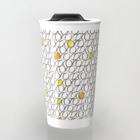 Ceramic Mug - Colourful Coffee Beans