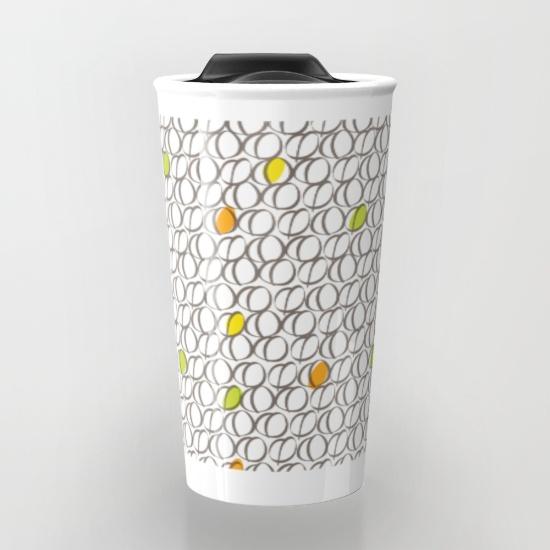 Ceramic Mug - Colourful Coffee Beans