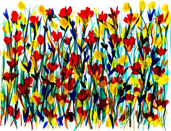 gouache-flora